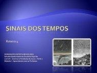 Sinais precursores - Federação Espírita Brasileira