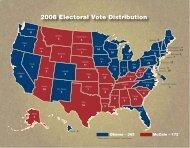 2008 Electoral Vote Distribution