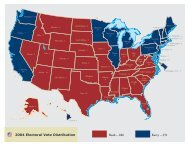 2004 Electoral Vote Distribution - Federal Election Commission