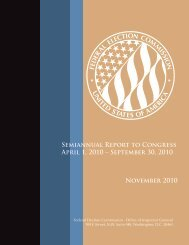 Report in PDF - Federal Election Commission