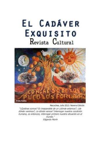 El Cadáver Exquisito - 9º Edición - Julio 2013