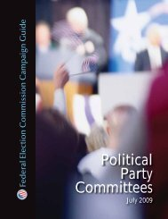 Campaign Guide for Political Party Committees - Federal Election ...