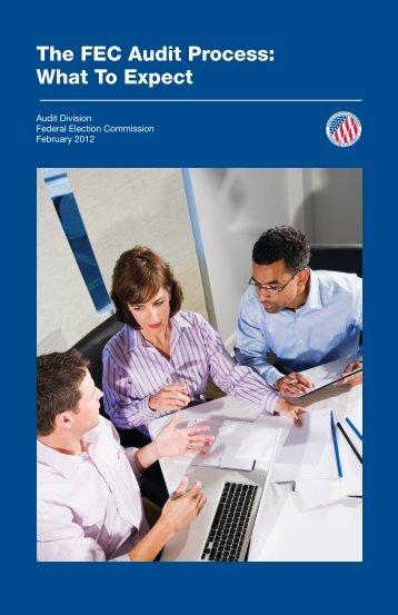 The FEC Audit Process - Federal Election Commission