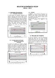 Boletim Econômico FECAP_03 2011 _dados janeiro e fevereiro