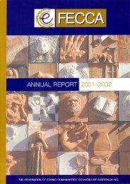FECCA Annual Report 2001-2002
