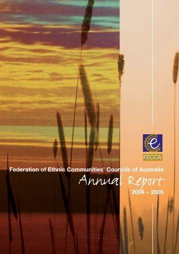 FECCA Annual Report 2004-2005