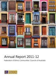 Annual Report 2011-12 - FECCA