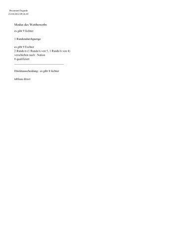Ergebnisse Herrensäbel Jhrg. 1999 [16.0 KB]