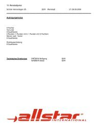 Ergebnisse Schüler Jhrg. 1997