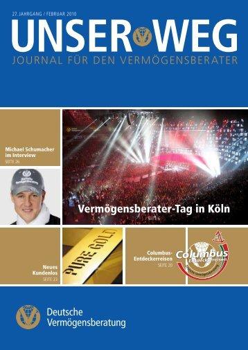 Vermögensberater-Tag in Köln - Deutscher Fechter-Bund