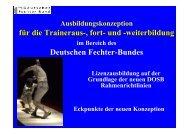 A – TRAINER - LEISTUNGSSPORT - Deutscher Fechter-Bund eV