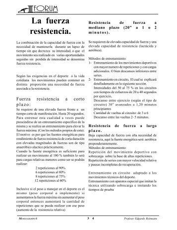 Fuerza Resistencia Reitmann E.