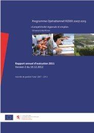 Rapport annuel d'exécution 2011 Version 2 du 19.12.2012 - Feder