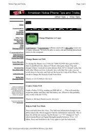 Nokia Tips and Tricks Page 1 de 6 http://american ... - Morreeuw.com