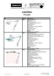 Leuchten - Augusta-Technic