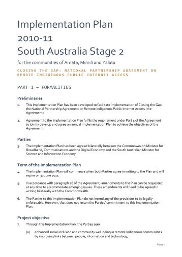 stage 2 - Ministerial Council for Federal Financial Relations