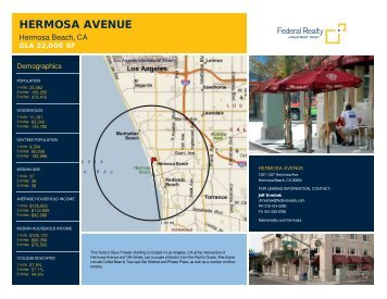 Hermosa Avenue Lease Flyer