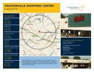 Feasterville Shopping Center Lease Flyer