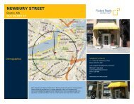 Newbury Street Lease Flyer