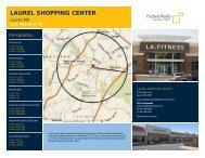 Laurel Shopping Center Lease Flyer