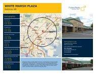 White Marsh Plaza Lease Flyer