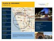 Plaza El Segundo Lease Flyer