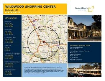 Wildwood Shopping Center Lease Flyer