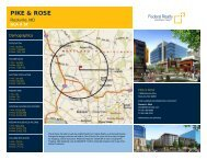 Pike & Rose Lease Flyer