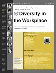 Diversity in the Workplace - Federated Press