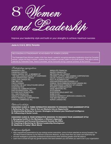 Women & Leadership - Federated Press