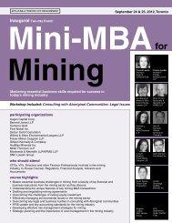 Mini MBA Min TOR.indd - Federated Press