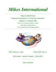 Mikes International - Hollandiai Magyar Szövetség
