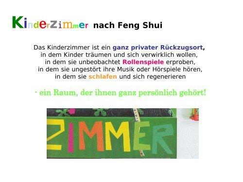 Kinderzimmer und Feng Shui - federleicht & RIESENGROSS