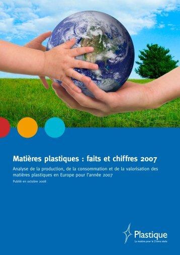 Matières plastiques : faits et chiffres 2007 - Federplast.be
