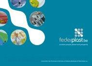 Association des Producteurs d'Articles en Matières ... - Federplast.be