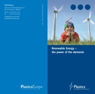 Renewable Energy – the power of the elements - Federplast.be
