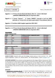 3^ prova Lignano.pdf - Associazione Italiana Master Scherma