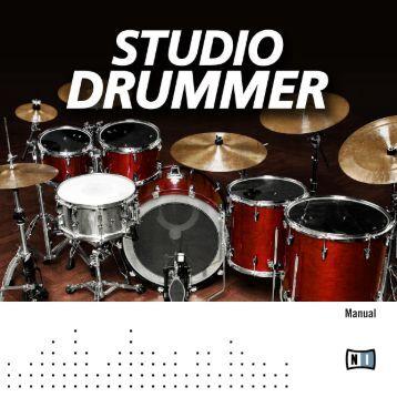Studio Drummer Manual English - zzounds.com
