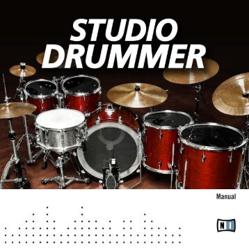 Studio Drummer Manual English - zzounds.com