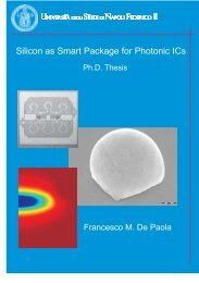 Silicon as Smart Package for Photonic ICs - FedOA