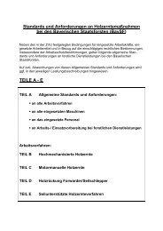 Standards und Anforderungen an ... - Bayerische Staatsforsten