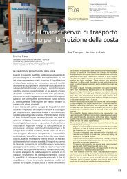 PDF (Le vie del mare: i servizi di trasporto marittimo per la fruizione ...