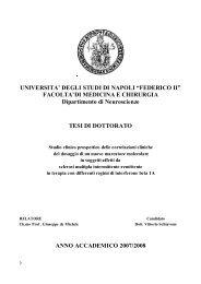 """UNIVERSITA' DEGLI STUDI DI NAPOLI """"FEDERICO II ... - FedOA"""