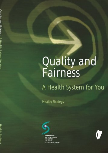 Quality and Fairness report - Irish Health Repository
