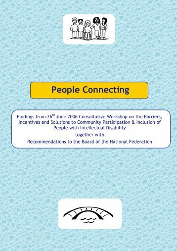 People Connecting - National Federation of Voluntary Bodies
