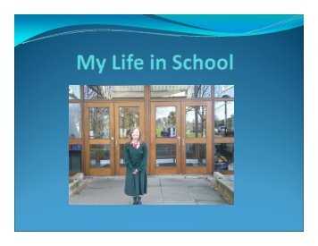 A pupil and teacher story