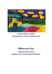 Where we Live Report.. - Trinity College Dublin