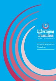 Best Practice Guidelines - National Federation of Voluntary Bodies