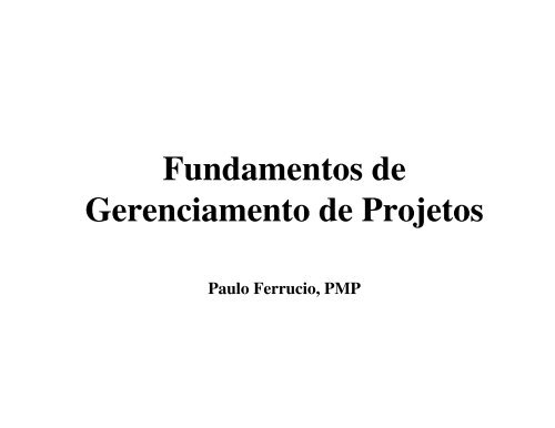 Arquivo Fundamentos de Gerenciamento de Projetos.pdf