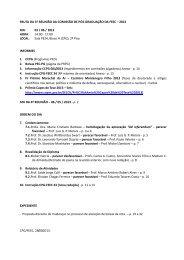 PAUTA DA 5ª REUNIÃO DA COMISSÃO DE PÓS ... - FEEC - Unicamp